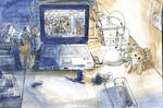 Work desk by U00