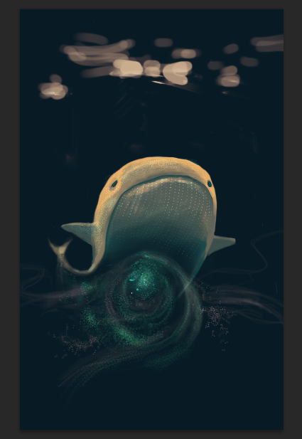 Whale galaxy by U00