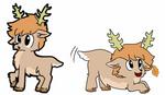 Original new deer oc