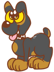 Pup,in Garfield style