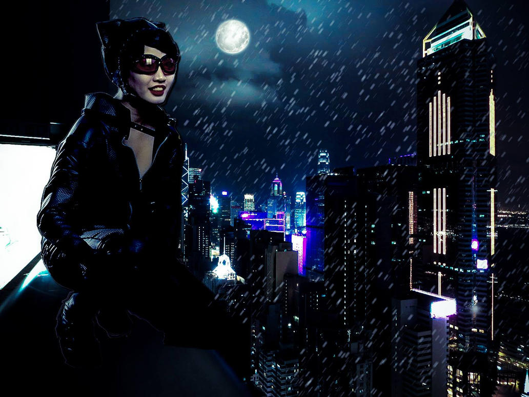 Catwoman by FairyOfMischief