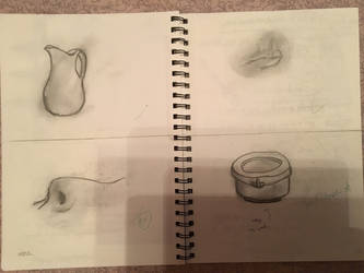 Sketch of a jug, nose, mouth and stuff by pokemonlake
