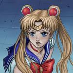 Sailor Moon Redraw Challenge by YaelPardina