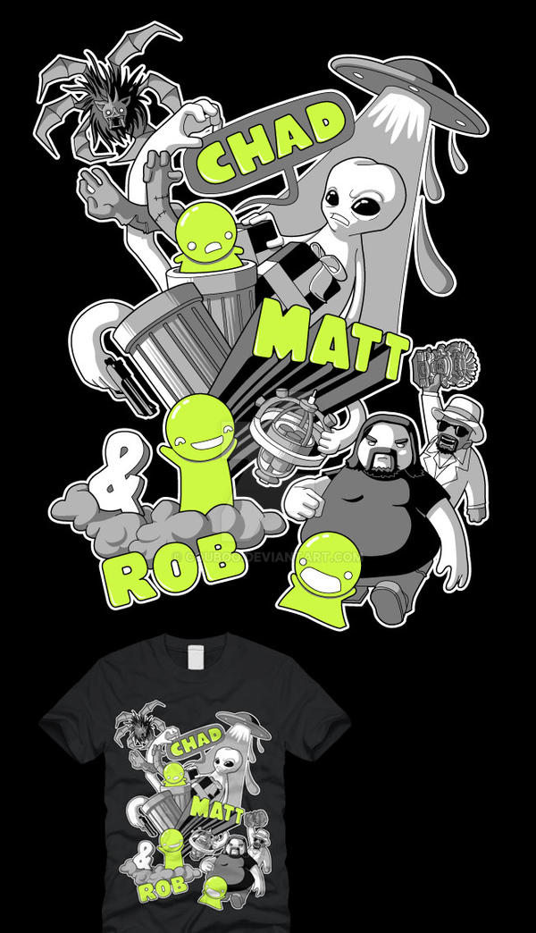 Chad Matt and Rob adventures by couboo