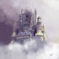Cloudy Castle by Nimily