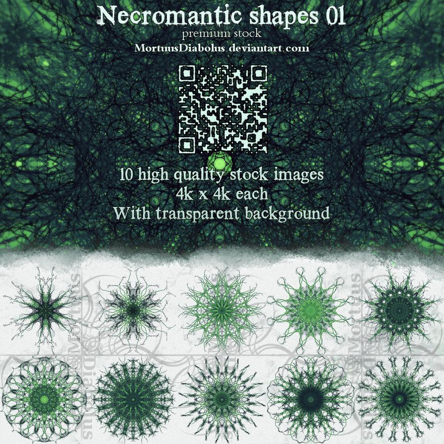 Necromantic shapes stock 01 by MortuusDiabolus