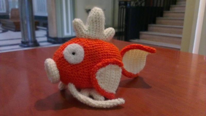 Amigurumi Forum Net : Amigurumi crochet magikarp by ellenis on deviantart