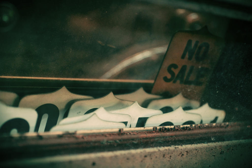 No Sale by DaraLC-artisty