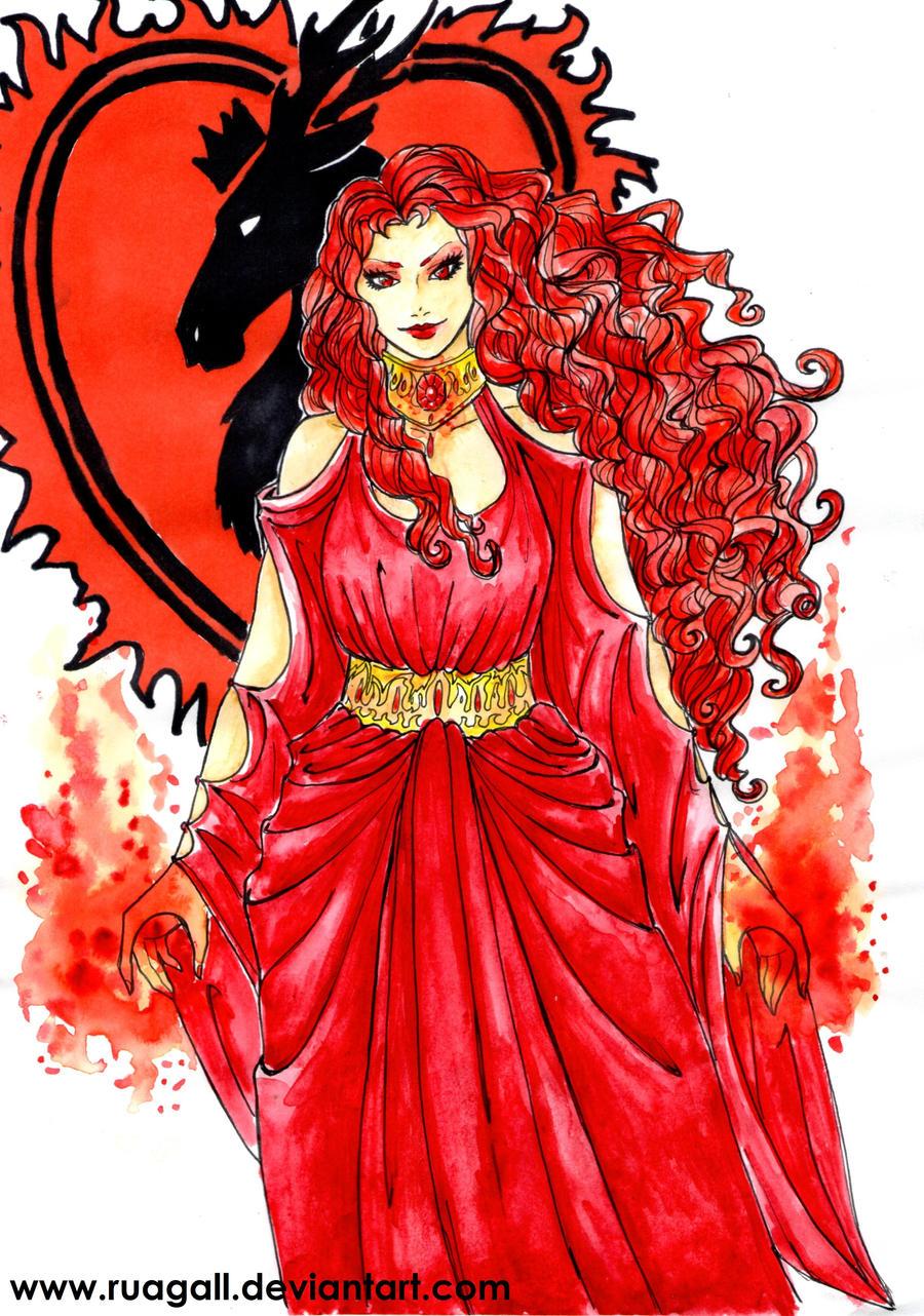 ASOIAF-Melisandre of Asshai by RuaGall