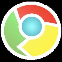 Google Chrome Sticker Style by VADi25
