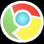 Google Chrome Sticker Style