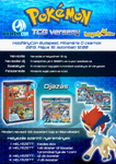 Water [Keldeo] Themed TCG Competition Poster