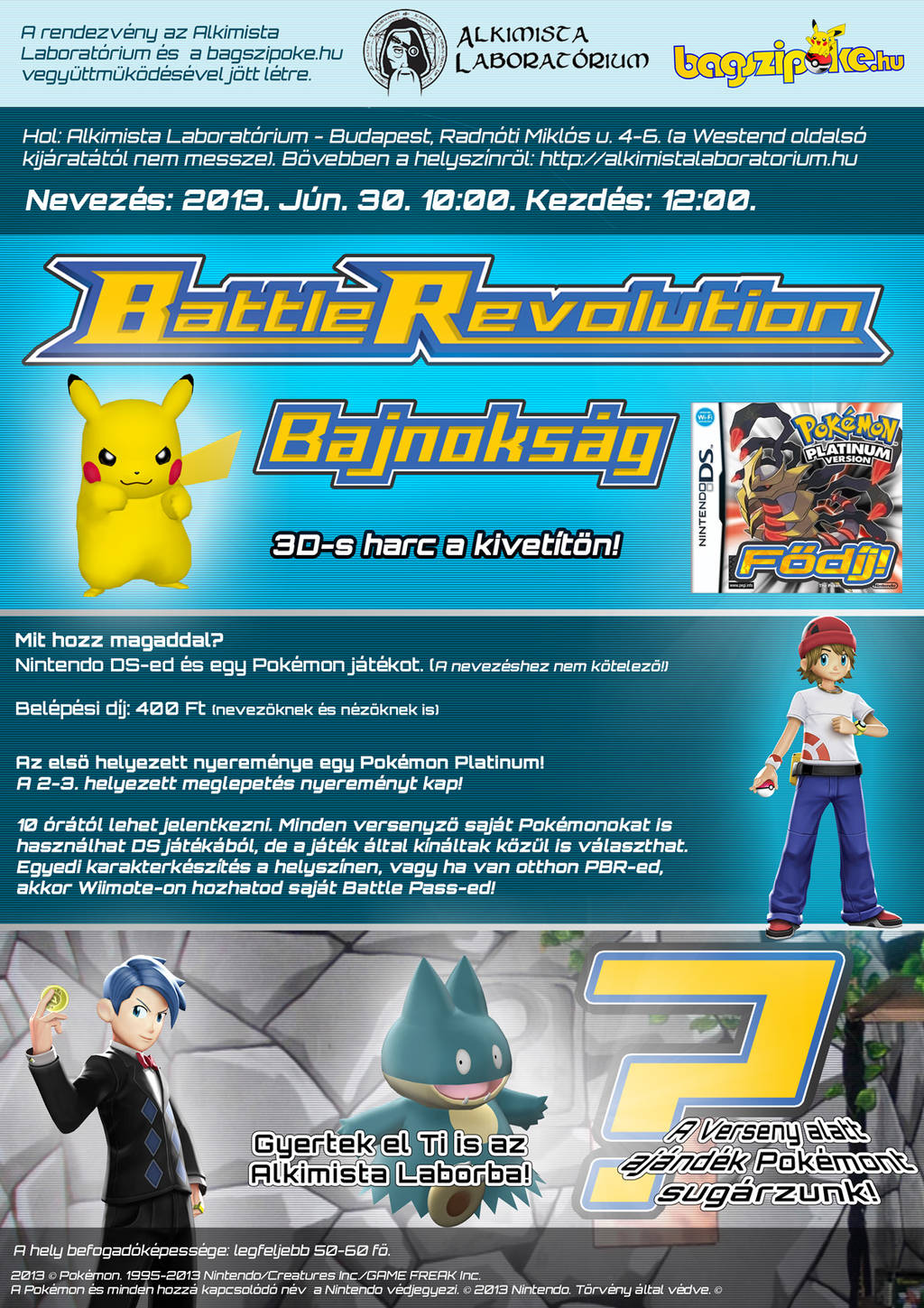 Battle Revolution Tournament Poster (2013) by VADi25