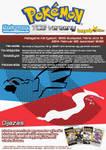 Dragon Type TCG Tournament Poster
