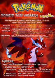 Fire Type TCG Tournament Poster by VADi25