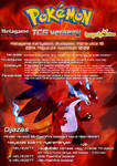 Fire Type TCG Tournament Poster