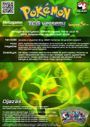 Grass Type TCG Tournament Poster by VADi25