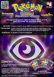 Psychic Type TCG Tournament Poster