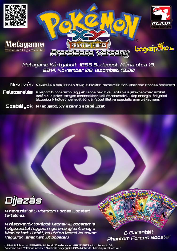 Psychic Type TCG Tournament Poster by VADi25