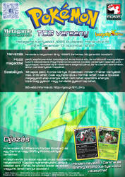 Electric Type TCG Tournament Poster by VADi25