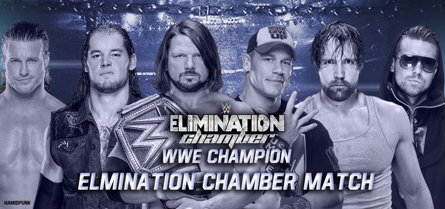 Image result for elimination chamber 2017 poster