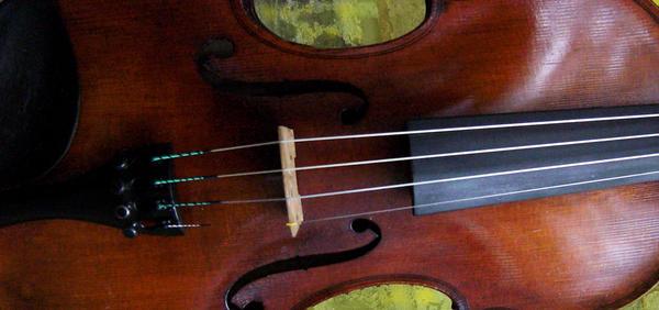 Violin Wallpaper by KellyCDB
