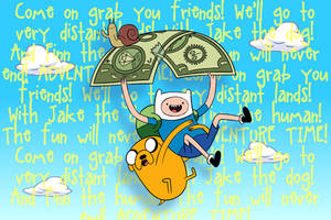 Adventure Time - Main Theme by Chickabowow-Fafa