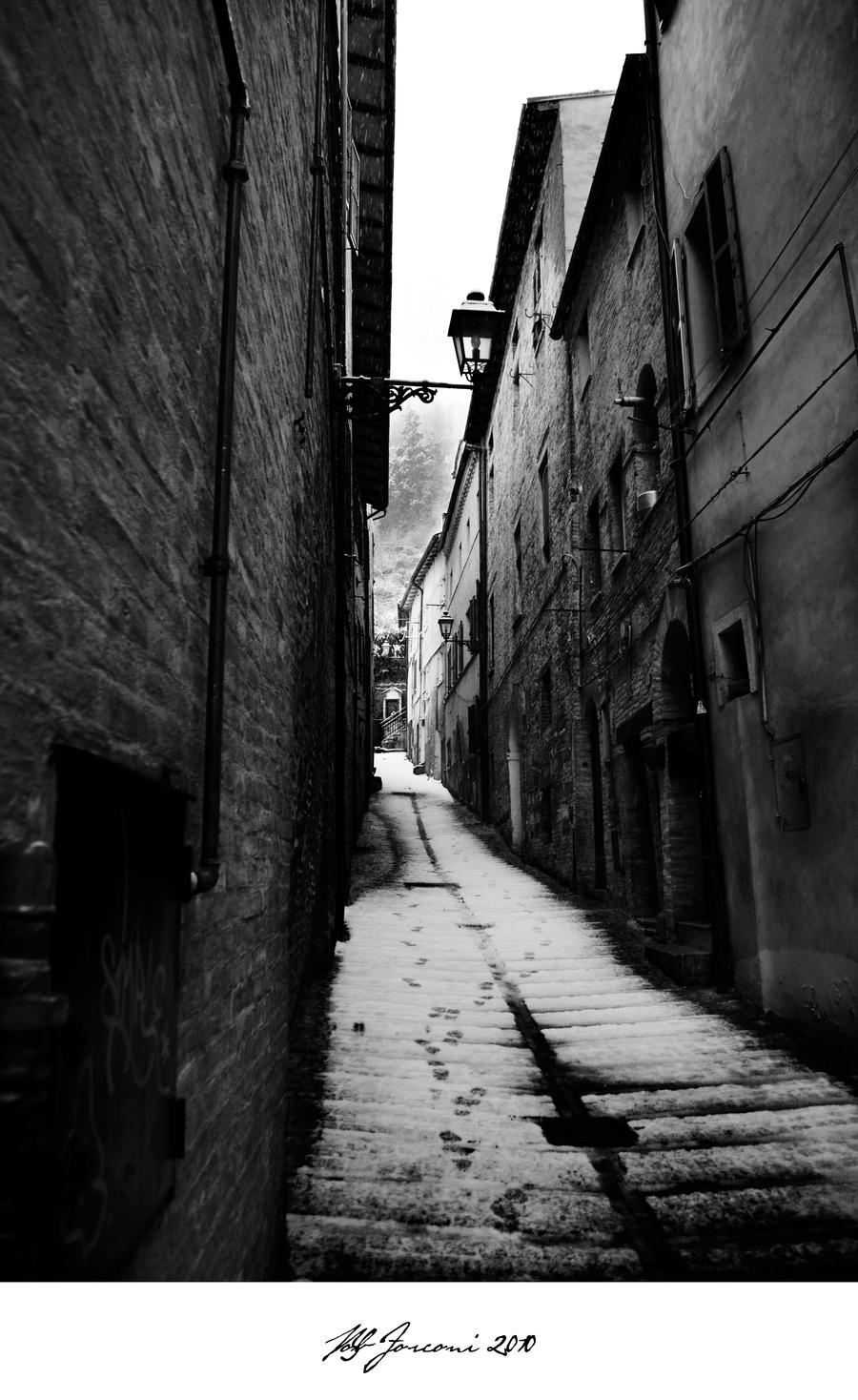 1867 Victorian Alley by Demyan