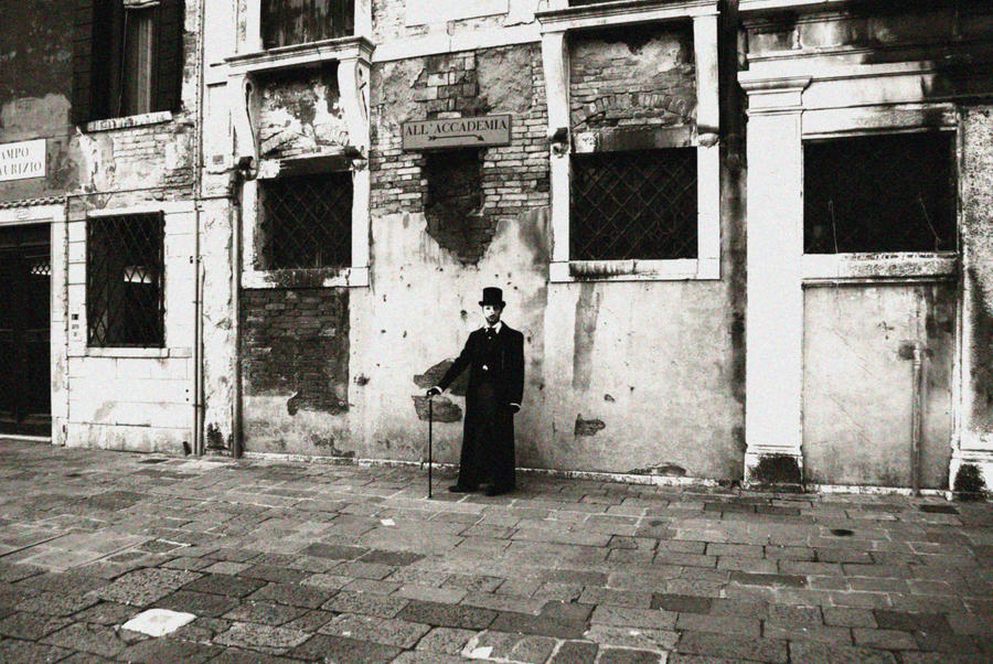 Phantom of Victorian Venice by Demyan