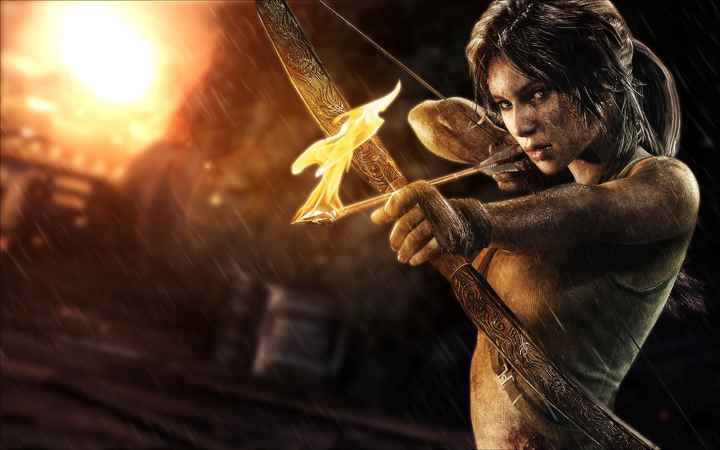 Tomb Raider - Unofficial Wallpaper Without Logos by TombRaider-Survivor