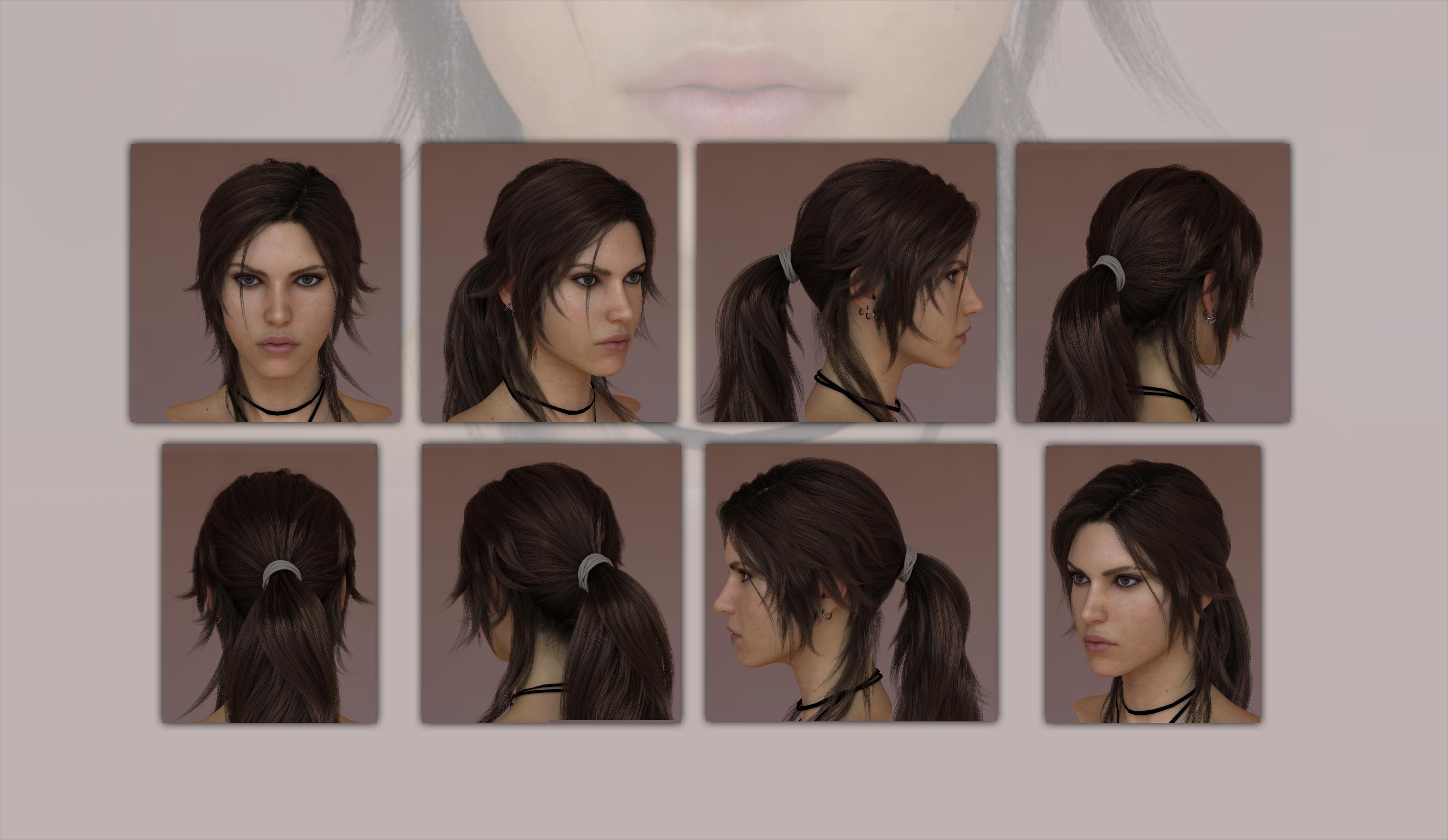 Lara croft hair naked photo