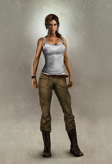 A survivor is born - Artwork Lara Before by TombRaider-Survivor