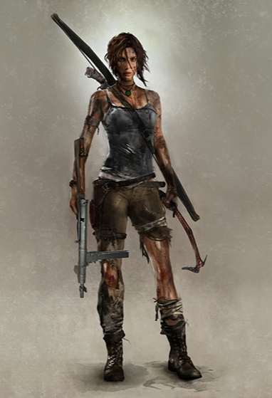 A survivor is born - Artwork Lara At the End by TombRaider-Survivor