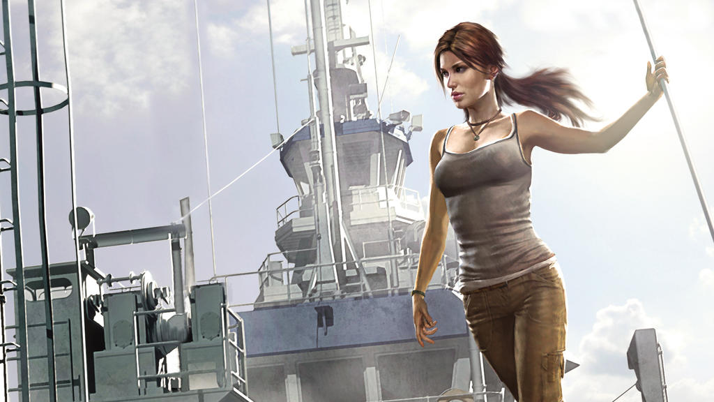 Tomb raider the beginning official wallpaper by for Best home wallpaper 2013