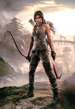 Tomb Raider - Shanty Town HQ Wallpaper