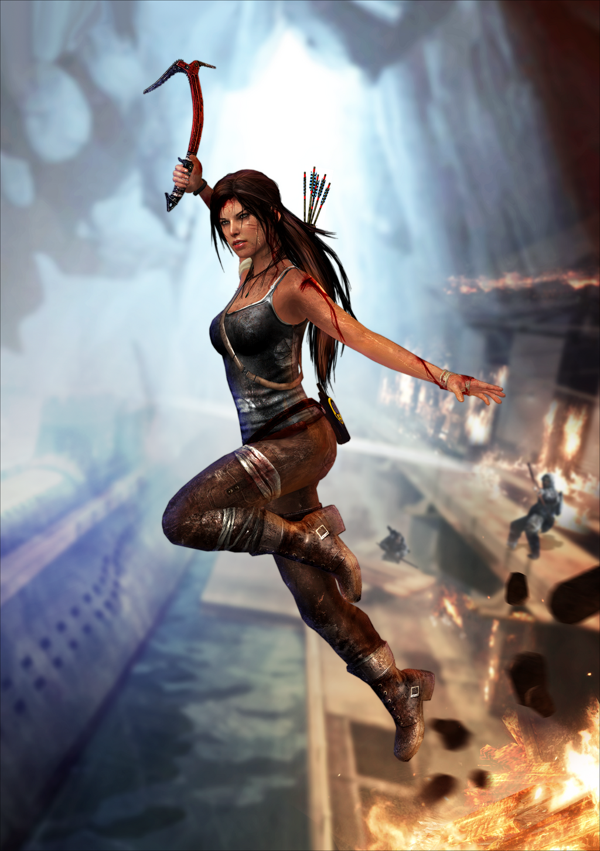 Tomb Raider - Unofficial XNA Lara Wallpaper by TombRaider-Survivor