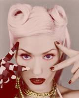 Gwen Stefani Colourization by jessiesquash
