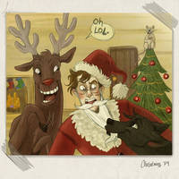 Marauders Christmas by Alatariel-Amandil