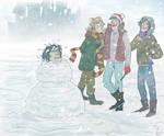 Snivellus the Snowman