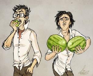 Sirius' Juicy Melons by Alatariel-Amandil
