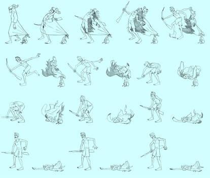 The poacher Strips - KeyFrames from 2D Short