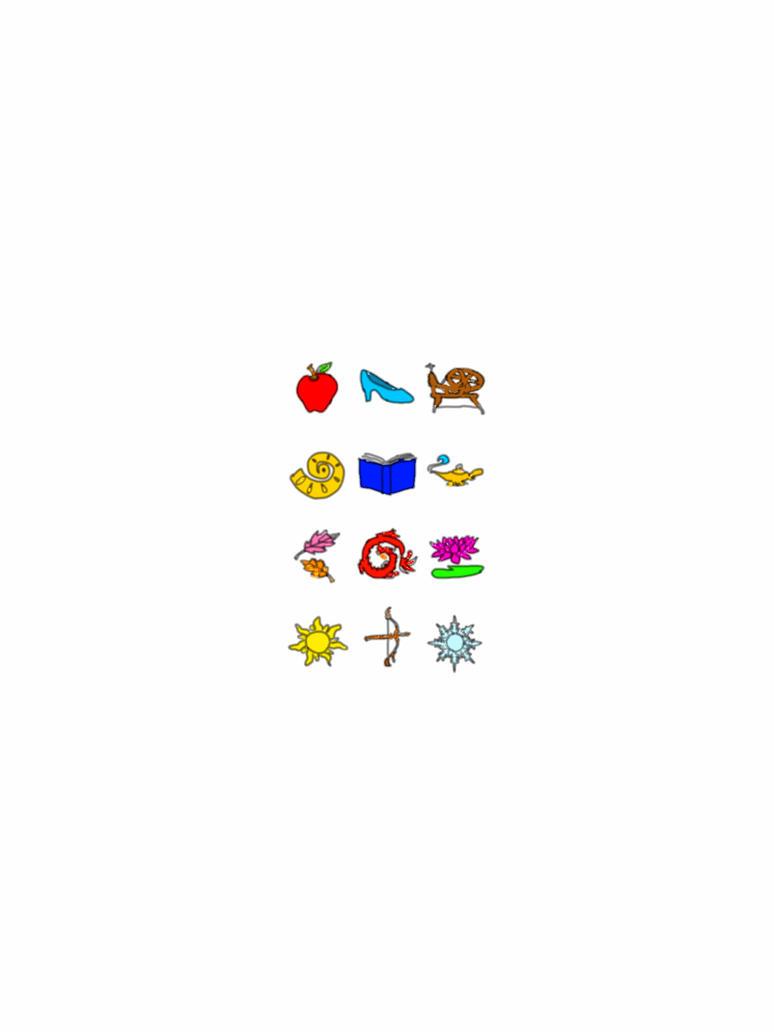 Disney princess symbols by helloddgirl on deviantart disney princess symbols by helloddgirl buycottarizona