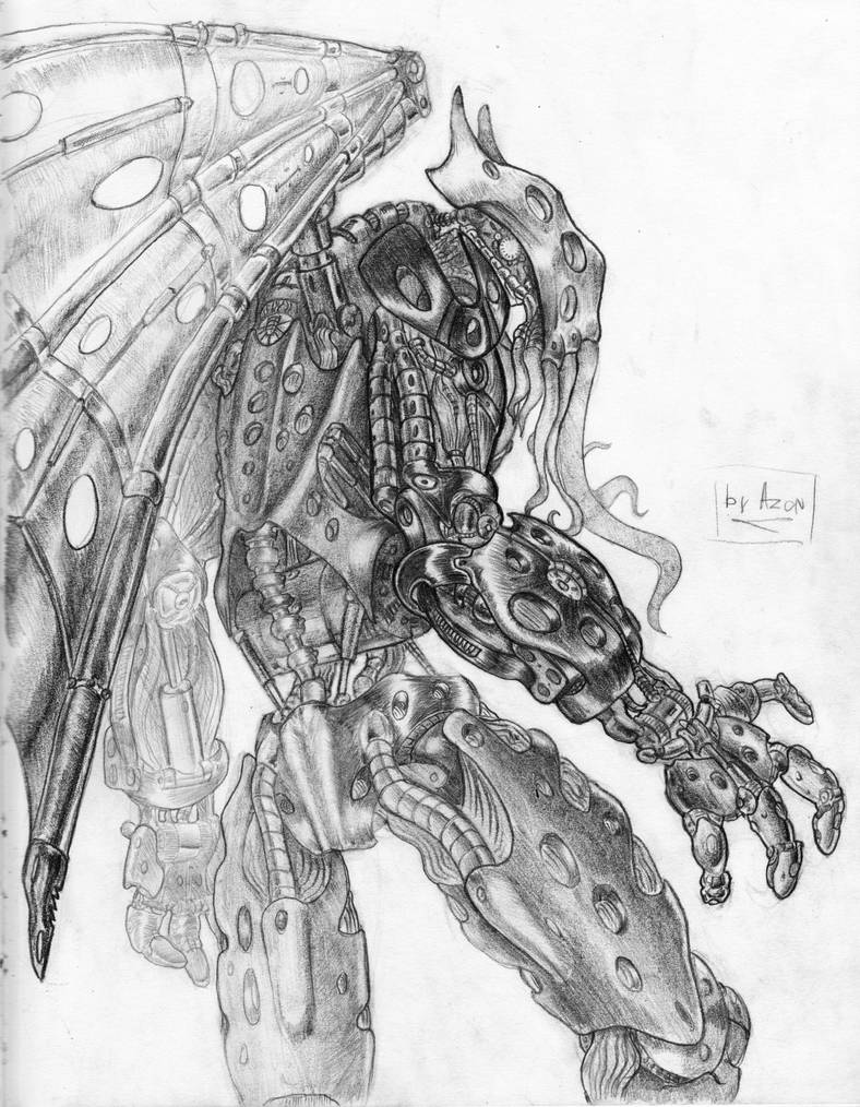 Biomechanical Cthulhu