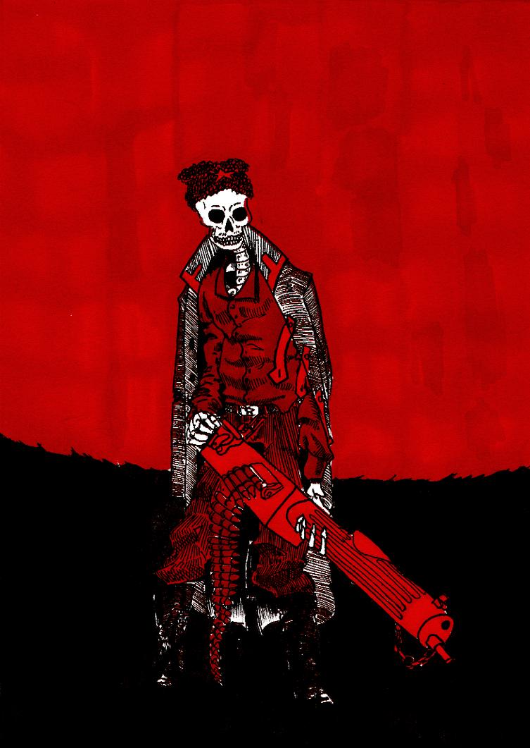 Infernal Red army - Chepaev by AzonBobcat
