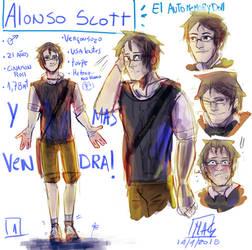 Alonso Scott-El auto memory doll-concurso