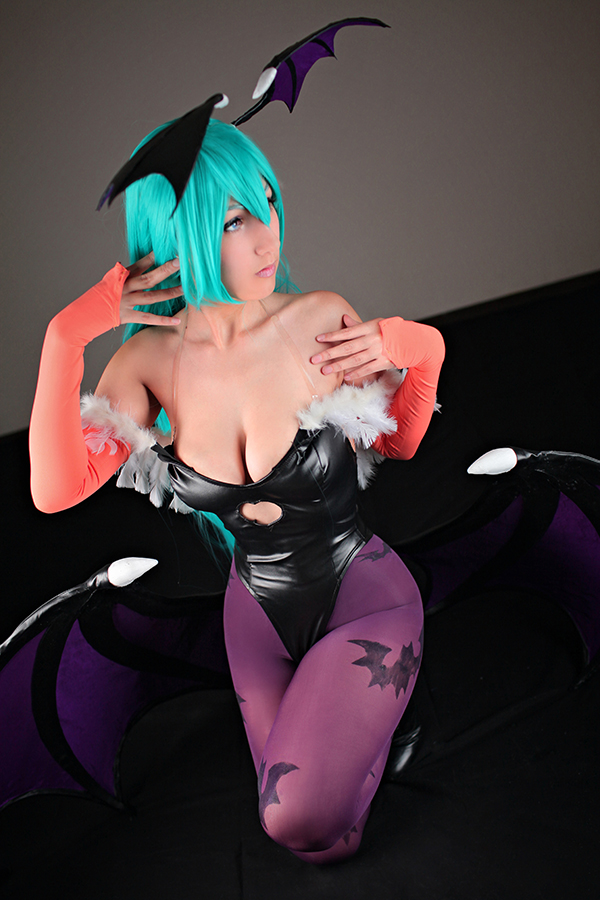 Morrigan Aensland by DalinCosplay