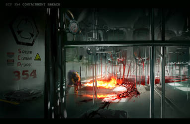 SCP 354 Containment Breach by isogonica