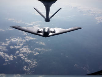 B-2 Spirit Stealth Bomber by AviatorAndy