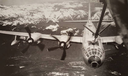 B-50 Superfortress Refueling