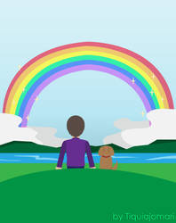 Rainbow Horizon by tiquiajomari